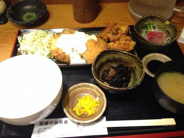 ミックスフライ定食5