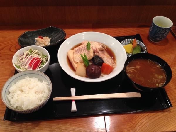 鯛素麺ランチ4