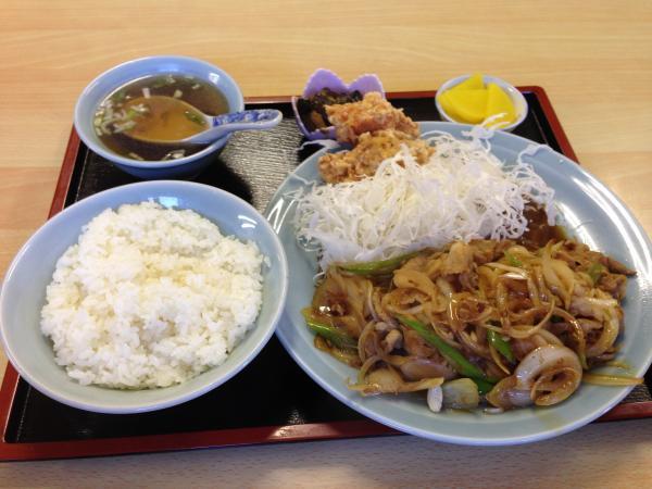 生姜焼き定食6