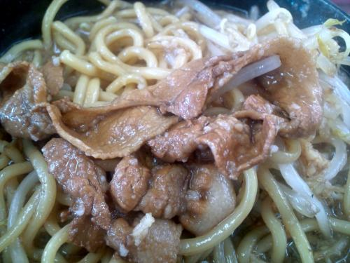 アカギ黒醤油 肉