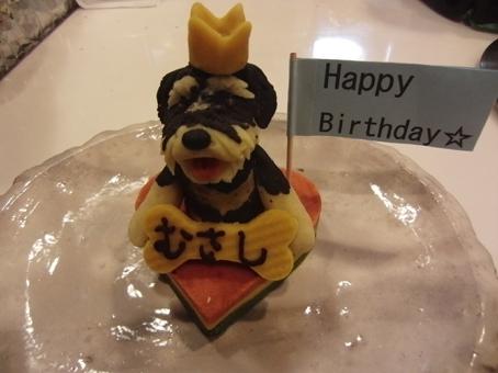 むーちゃん1歳のケーキ