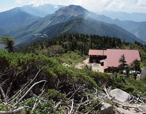 西穂山荘 079