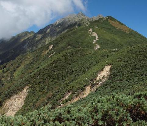 西穂高岳 109