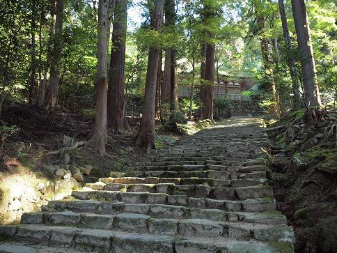 百済寺石段 2