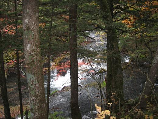 湯滝の小滝