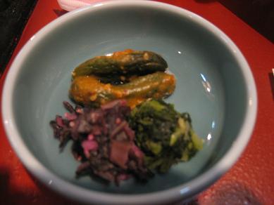 日光野菜のお漬物