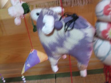 ボケボケだけど、羊だよん