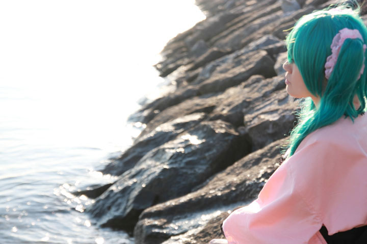 虹色蝶々/VOCALOID/HatsuneMiku/Cosplay