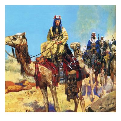 イングリッシュ美術・-アラビアのロレンス