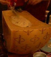 グリーンハウスのチーズリゾット
