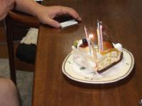 11/9 お誕生日ケーキ