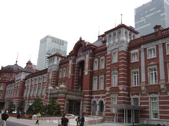 2/8 東京駅レンガの新駅舎