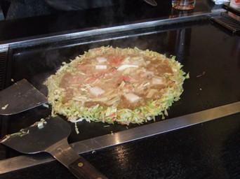 2/8 浅草で明太餅チーズもんじゃ