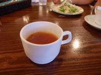 9/23 昼食 ランチセットのスープ   カウベル