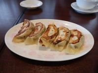 9/29 昼食  餃子(海老とクワイ入り)   サイヨー
