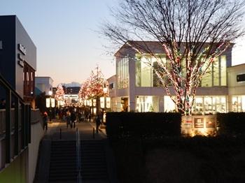 12/24 町はクリスマスイルミネーション