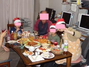 12/24 妹宅でクリスマス