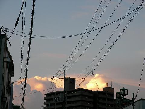夕焼け 001