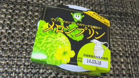 いばらき乳業 メロンプリン (2)