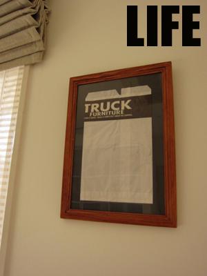 TRUCKの紙袋