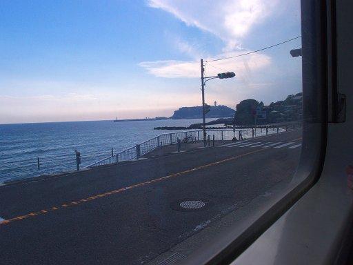 江ノ電から