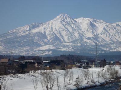 妙高山雪景色