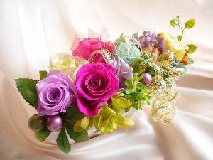 結婚祝いのプリザーブドフラワー