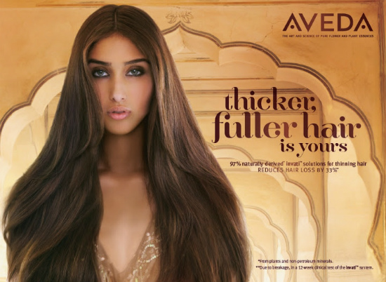 Aveda Hair Care Spring Summer 2012