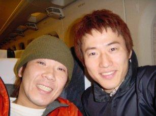 2001年コブクロの2人