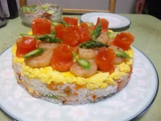 デコレーション寿司
