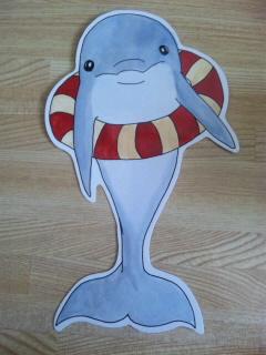 イルカ君のはがき