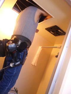 換気扇の修理