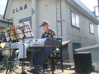 夏祭り 社長さんとキーボード