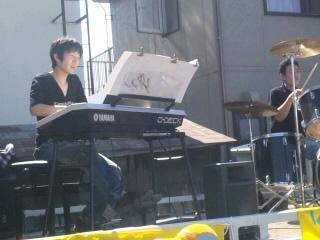 夏祭りキーボードとKさん
