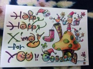 フッチーさんクリスマスカード