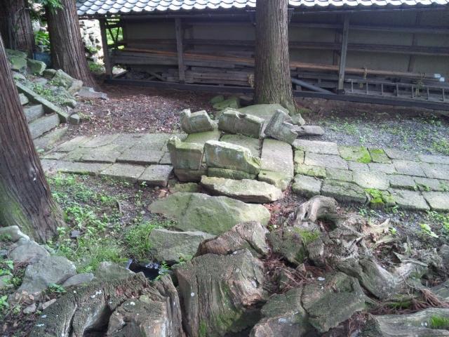 龍宮神社の石橋 (2)