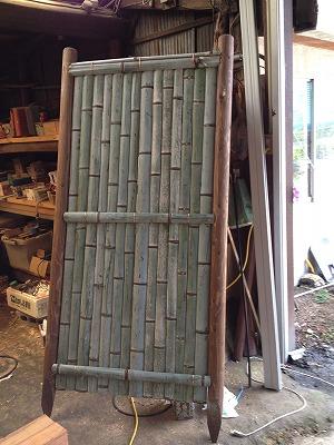竹フェンス