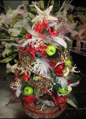 クリスマスツリー4背面