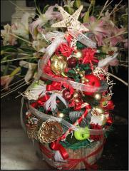 クリスマスツリー2正面