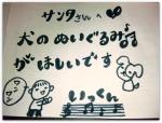 2010サンタさん手紙(三男)