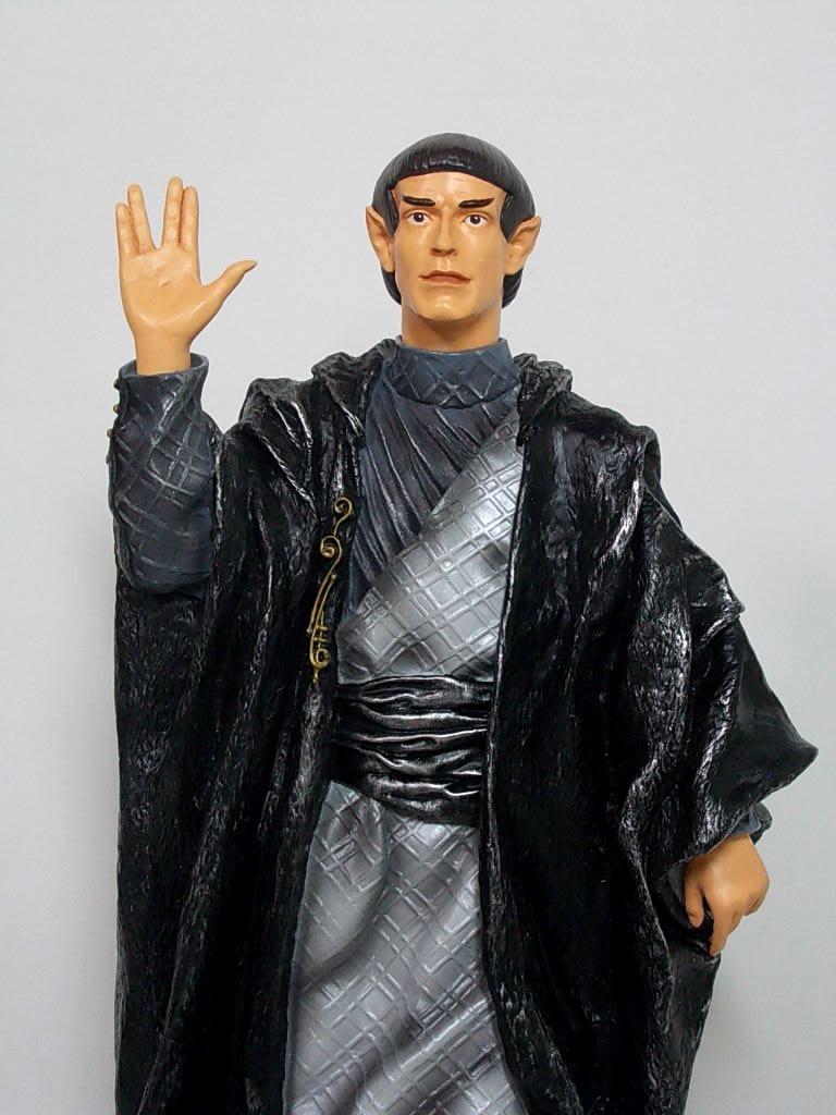 STAR TREK VULCAN LEADER Limited Edition Cold Cast Resin Statue Playmates RARE | eBay