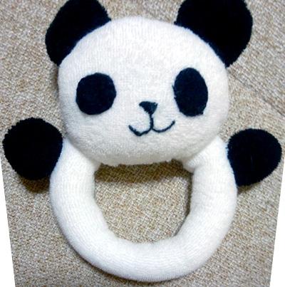 パンダのガラガラ