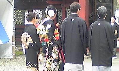 根津神社結婚式