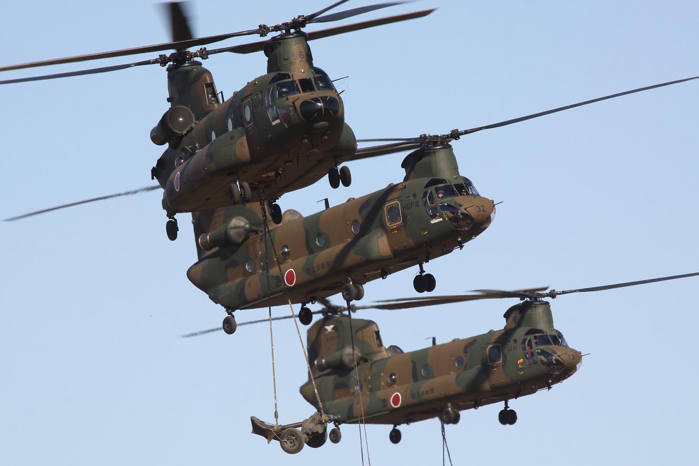 能ある鷹は爪を隠す CH-47JA 体...