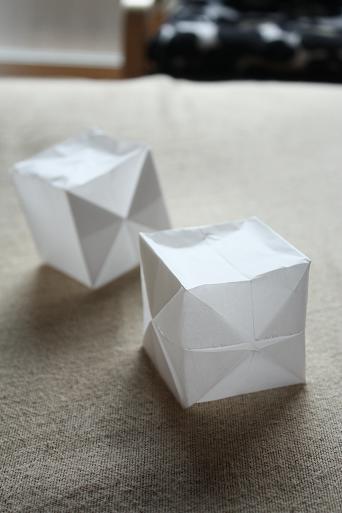 クリスマス 折り紙:紙風船 折り方-matome.naver.jp