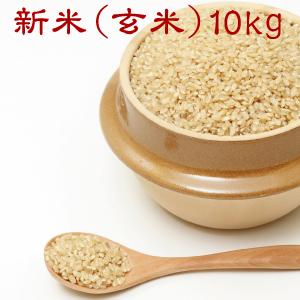 藍の里のお米(玄米)10kg【送料無料】