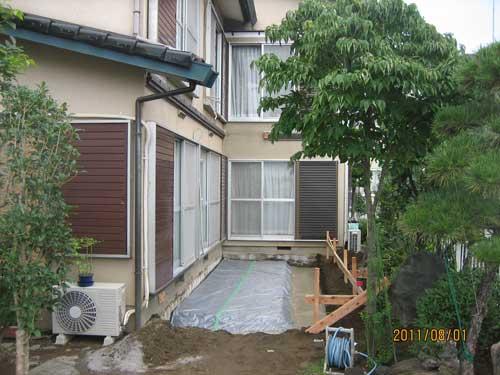 相場邸床下防水シート2