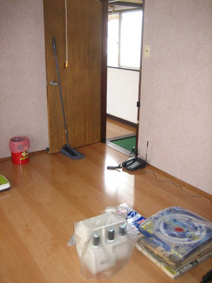 2階畳からフローリング完成