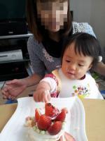 1歳ケーキ2