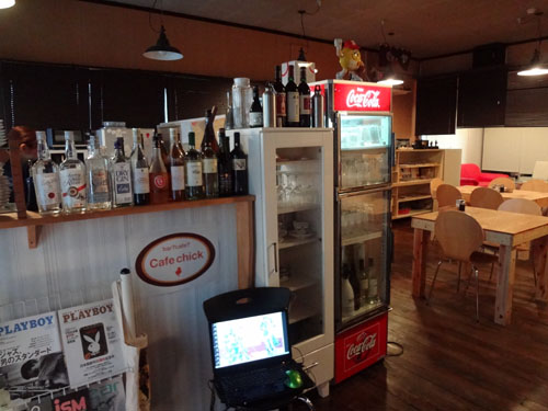 cafe chick店内②